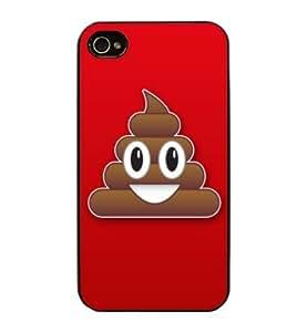 Coque iPhone 5/5S Caca Whatsapp- iPhone 5/5s Case