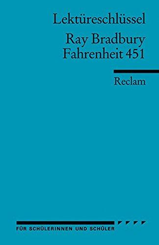 Ray Allen Teams (Fahrenheit 451. Lektüreschlüssel für Schüler)