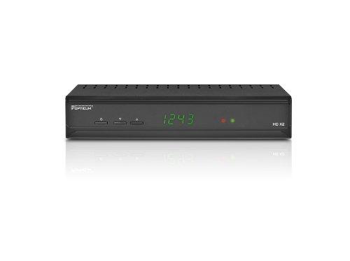 Opticum HD XC2 Kabel-Receiver (DVB-C, PVR, SCART, HDMI, USB 2.0) schwarz, mit PVR Ready Ge-hdtv-antenne