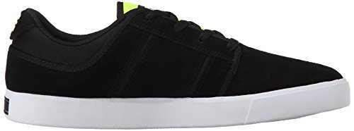 DC RD GRAND Herren Skateboardschuhe Black/Fluorescent Yellow