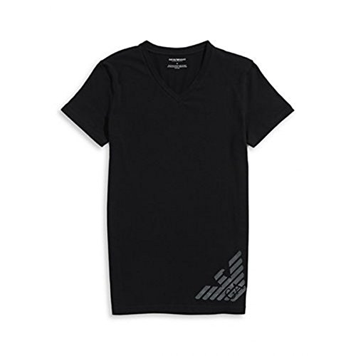 Emporio Armani Shirt T-Shirt schwarz KNIT T-SHIRT 110810 6A745 00020 nero HW16A1 Nero