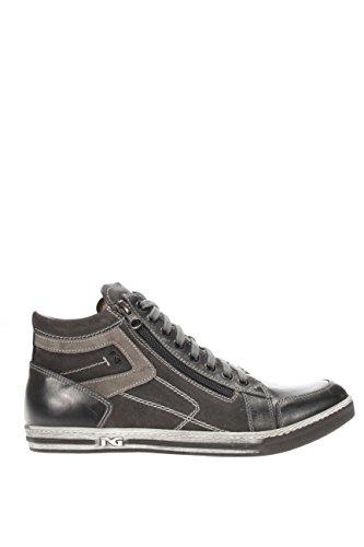 A604380U-101.Sneaker alta.Antracite.42