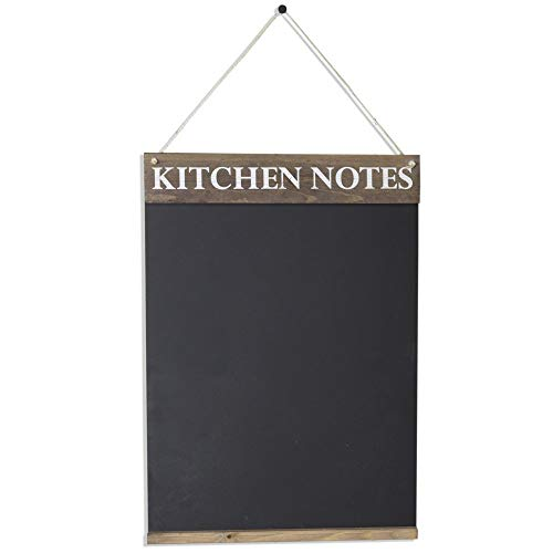 (Rustic Brown, A3 (42 x 30 x 1.6 cm)) - Chalkboards UK Kitchen Notes Chalkboard, Wood, Rustic Brown, 42 x 30 x 1.6 cm