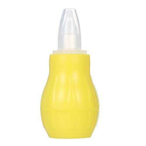 t-trees Baby Silikon Nasensauger Nase von Snot Sucker Booger Saugnapf Leuchtmittel Spritze für Baby Infant Neugeborenen wiederverwendbar BPA-frei