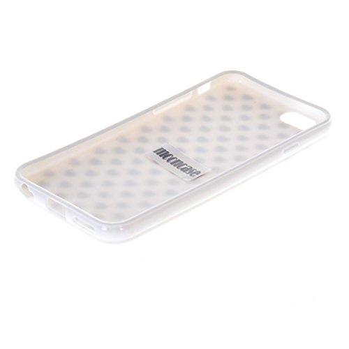 MOONCASE Gel TPU Silicone Housse Coque Etui Case Cover pour Apple iPhone 6 ( 4.7 inch ) Blanc 02