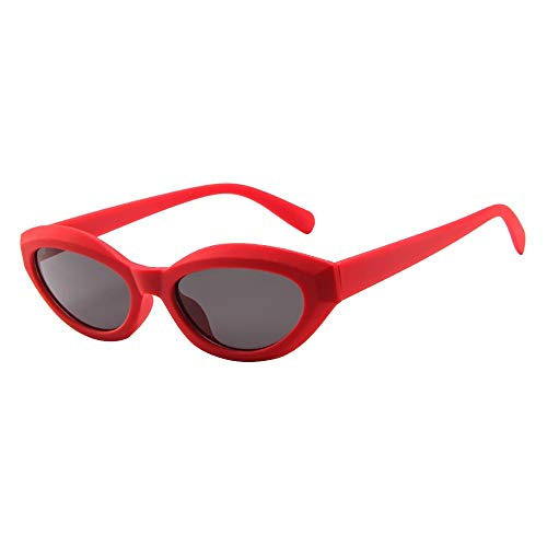 URIBAKY Gafas Vintage Lentes de sol tipo ojo de Gato Estilo a la Moda y con Protección UV Lentes tipo Kurt Cobain