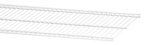 ELFA 45041090x 30mm Draht Regal Klammern–Weiß (Draht Regal Klammern)