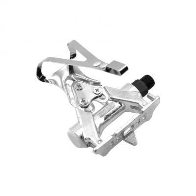 paio di pedali in alluminio con poggiapiedi retro vintage (filettatura 9/16) per