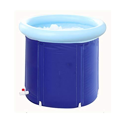 Baignoire Baignoire Adulte Baignoire Gonflable Baignoire Ménage Épaissir Grande Baignoire Pliable Baignoire En Plastique Économiser De L'espace (taille : 65 * 65)