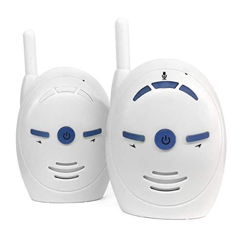Voice-alarm-sender (73JohnPol Tragbare 2,4 GHz Wireless Digital Audio Babyphone V20 Empfindliche Übertragung Zwei-Wege-Sprechen Crystal Clear Cry Voice Alarm)