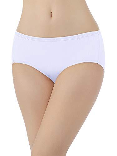 Vanity Fair Damen Illumination Hipster Panty 18107 Hipsterhöschen, Star White, Large -