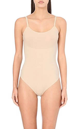 spanx-trust-your-thinstincts-slimming-thong-bodysuit-nude-x-large