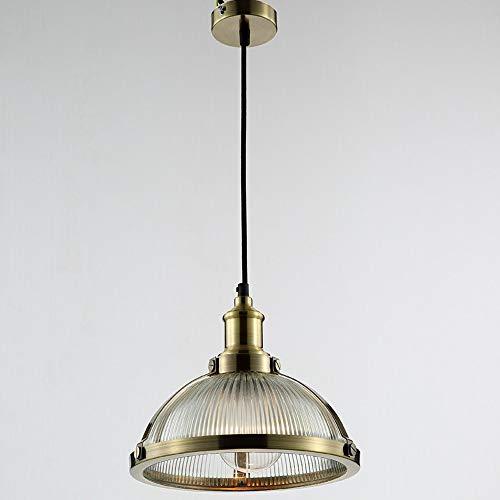 American Iron Kronleuchter, Vintage LED Glasdeckel Bar Dekoration Leuchter Deckenleuchten Moderne Antike Wohnzimmer Schlafzimmer Gang Pendelleuchte (Design : A)
