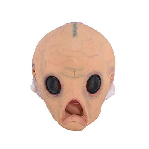 LYLLB-festival items Latex Alien Baby Maske Kopfbedeckungen Halloween Party Kostüm Dekorative Maske