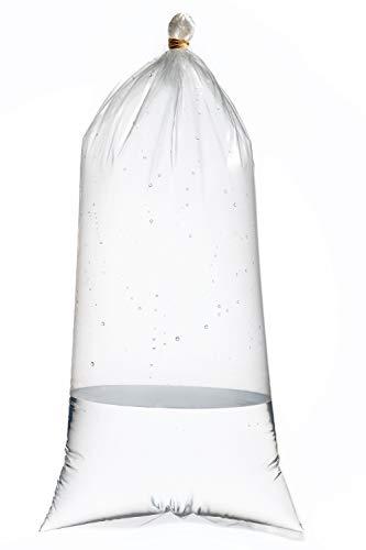 Resilia Kolar Labs Kunststoff, auslaufsichere Versandtaschen für lebende Fische und Korallenfrag - Doppelbodendichtung für Süß- und Salzwasserfische, 3X14 004, farblos (Fische Live Süßwasser-tropische)