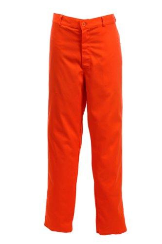 Preisvergleich Produktbild Black Knight PC205T Damen Arbeitshose, Normale Länge, Gr. 46, Orange