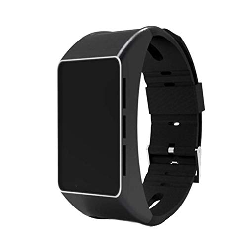 F-blue Bluetooth Fitness Herzfrequenz Entfernung Schritte Armbanduhr Schlaf Rekord Square Screen Smart Watch Blue Square Platte