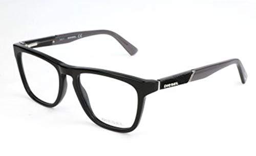 Diesel Herren DL5249 001-52-17-145 Brillengestelle, Schwarz, 52