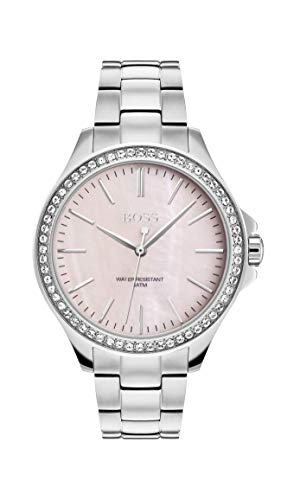 Hugo Boss Womens Analogue Classic Quartz Watch with Stainless Steel Strap 1502451