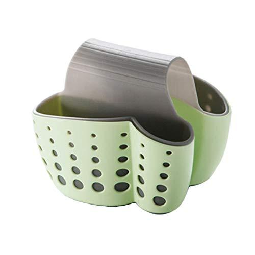 Meisijia Küche Storage Racks Doppelwaschbecken Caddy Sattel Stil Küchen-Organisator-Speicher Schwammhalter Rack-Werkzeug - Doppel-korb Veranstalter