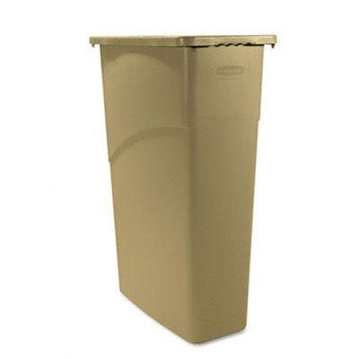 beige-slim-jim-plastic-rectangular-waste-receptacle-23-gal