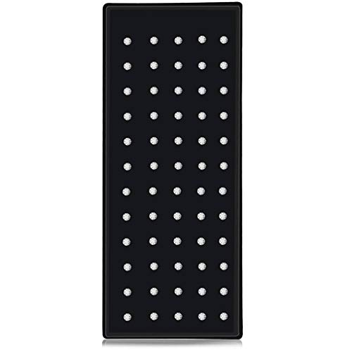Floridivy 60PCS / Box Edelstahl glänzenden Strass Nasen-Bolzen Titan Stahl Echtheiten Anti-Allergie-Nasen-Bolzen