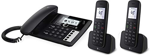 Telekom Sinus PA207 Plus 2, analoges Telefon-Set