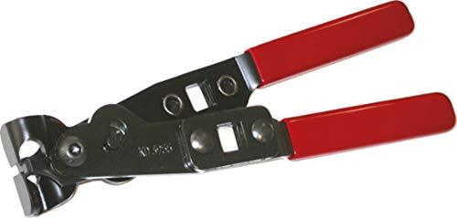 Sicutool - Alicates para diademas de dos orejas, para apretar las abrazaderas de 2 orejas Art. 3474 Z sin dañar la manguera. L = 235 mm.