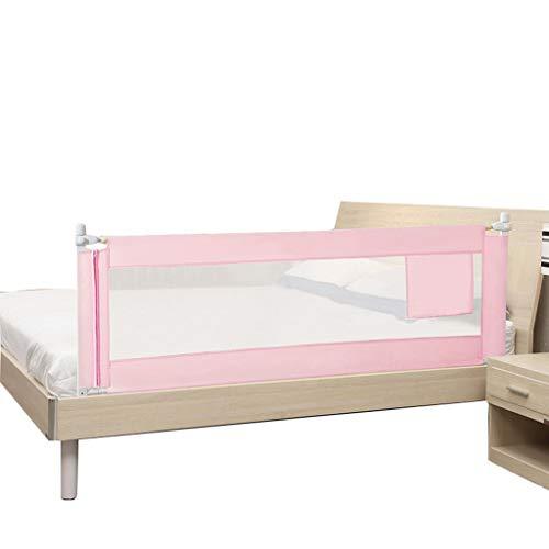 LIUSHUAISHUAI Bettzaun Kinderbett Leitplanke Absturzsicherung Vertikaler Hebebettschutz 4-Fach verstellbar (Size : 150CM)