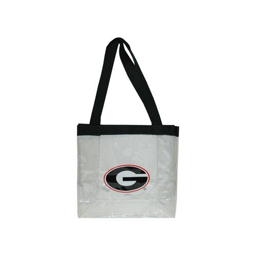 the latest 288b6 4705c NCAA Georgia Bulldogs Clear PVC Ladies Purse, One Size, Multicolor by Game  Day Outfitters