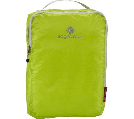 Eagle Creek Packtasche Pack-It Specter Cube - Übersicht beim Reisen durch Tasche in Tasche System, white/strobe strobe green