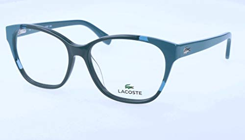 Lacoste Damen L2737 Brillengestelle, Blau, 53