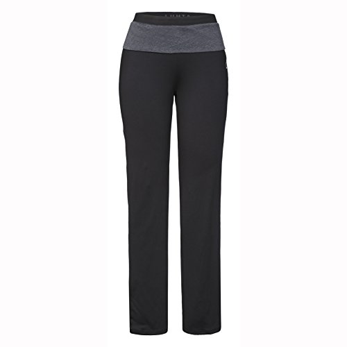 LUHTA riikka Pantalon pour femme Noir - Noir