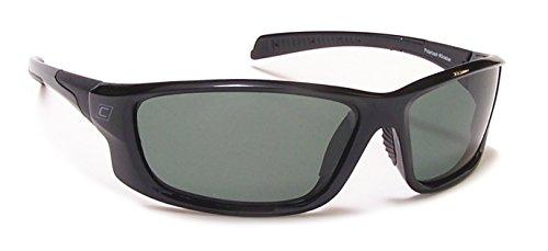 Coyote Polarisierte Street und Sport Sonnenbrille, unisex, Matte Black Frame