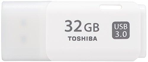 Toshiba TransMemory U301 - Memoria USB de 32 GB, color blanco