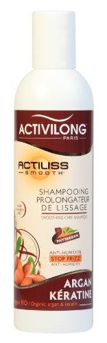 Activilong Actiliss Smooth Shampooing Prolongateur de Lissage Argan Bio et Kératine 250 ml