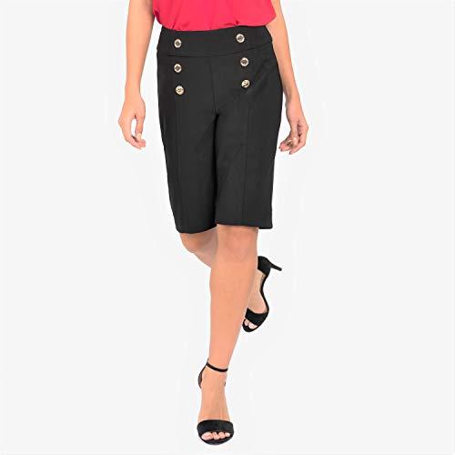 Joseph Ribkoff Knee Length Slip On Pants - Style 192095