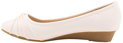 Elara - Pantofole Donna Bianco