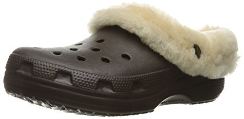 CROCS Schuhe - CLASSIC MAMMOTH LUXE CLOG - espresso, Größe:36-37