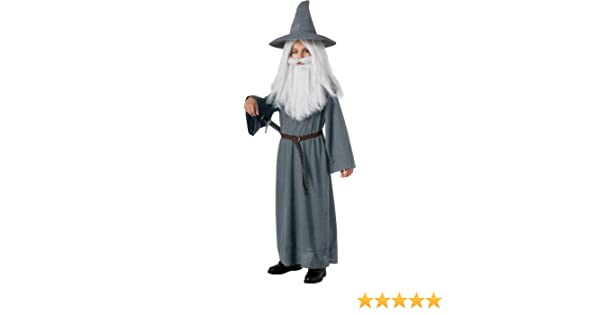 Harry Potter//World Book Day//-Dumbledore WIZARD WITCH HAT /& BEARD Kids Set