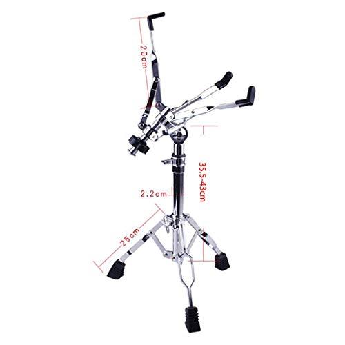 GDGQJRM Keyboard-Ständer Dumb Drum Pad-Halterung Snare Drum-Regal Drum-Regal 13-15 Zoll Dumb Drum Pad Universal-Drum-Rack Drum Musikinstrument-Zubehör