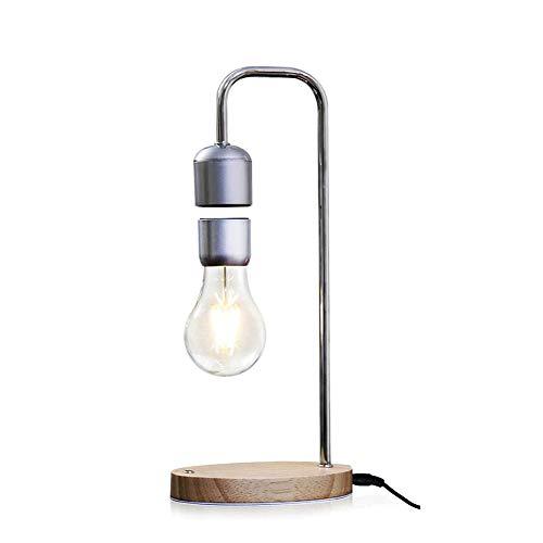 GPFDM Magnetische Schwebende Tischlampe Mit Schwebender Glühbirne, LED-Glühbirne Mit Kabel, Kreative Schreibtischlampe, Einzigartige Geschenke, Raumdekor, Nachtlicht, Inneneinrichtung