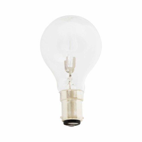 28 W Status Ampoule ronde Petit culot à baïonnette Transparent