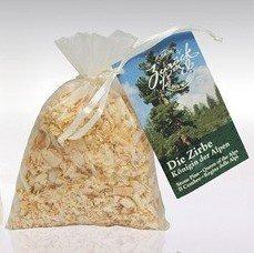 20g/5,90 Euro - Alpine Naturprodukte Zirbenholz-Duftsackl Mini im Organzabeutel 1