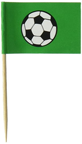 Fußball Picks, 2–1/2Zoll (Sport-themen-cupcakes)