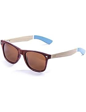 Ocean Sunglasses Ski Gafas de Sol Beach Wood (60 mm) Marrón