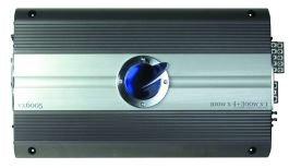 Planet Audio VX6005, 5-Kanal Mosfet Endstufe, Leistung MAX @ 4 Ohm: 800, Verstärker (Planet Audio-verstärker)