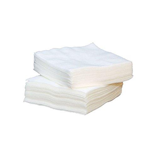 Watte Mulltupfer, unsteril, Weiß, 8 Ply, 5 x 5 cm (Packung mit 100)