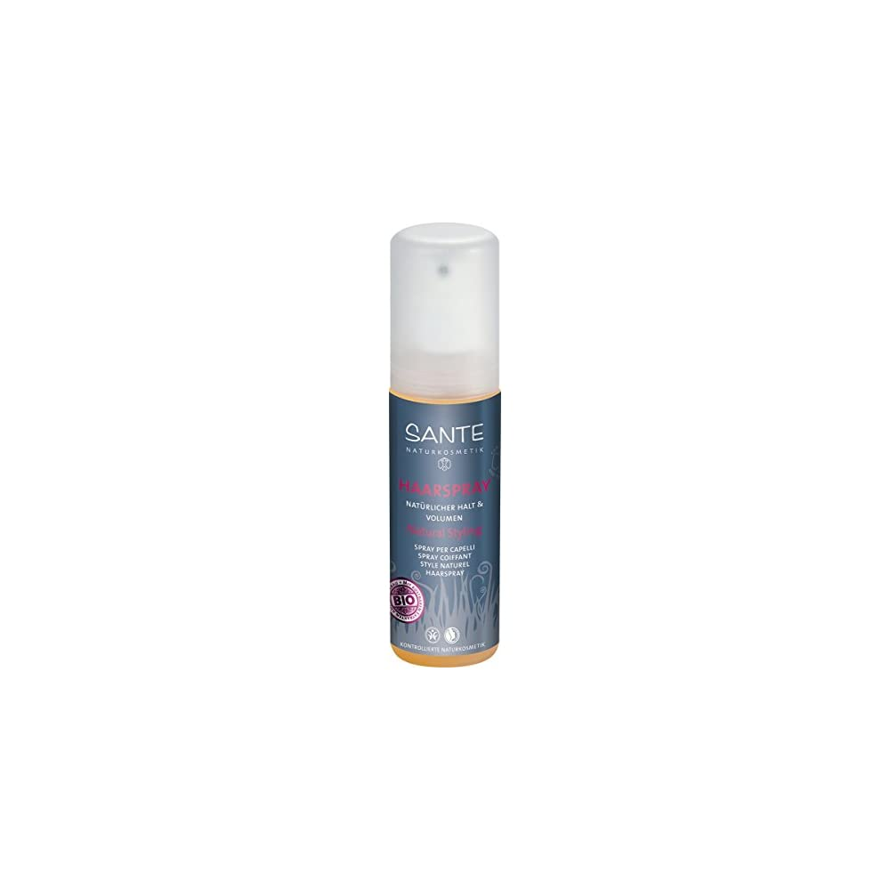 Sante Naturkosmetik Haarspray Natural Styling Natrlicher Halt Volumen Verklebt Nicht Pflegende Le Bio Extrakte 150ml