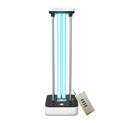 LP Disinfection lamp UV-Licht ultraviolettes keimtötendes Licht l 36W Quarzlampe Ozon & Remote Contro Virus Bakterien Schimmelmilben Keim für Auto Haushalt Schule Hotel Pet Area (Keimtötende Uv-lampe)